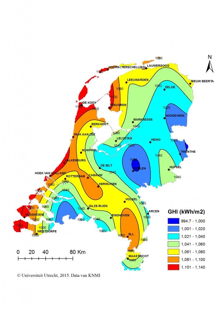 zonneinstraling2014